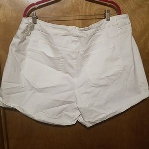 Lane Bryant Shorts - Lane bryant white Jean shorts